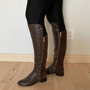 Micheal Kors Berkeley riding boots